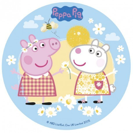 DISCO COMESTIBLE 16CM PEPPA PIG AZF