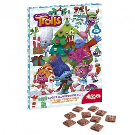 CALENDARIO DE ADVIENTO TROLLS NEW 50 GR