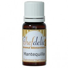 MANTEQUILLA AROMA CONCENT. 10 ML.