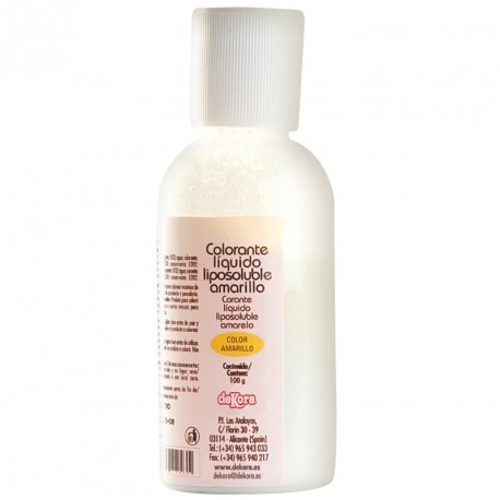 COLORANTE LIQUIDO LIPOSOLUBLE AMARILLO